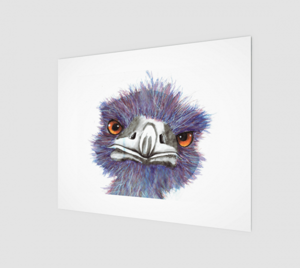 here's looking at you print