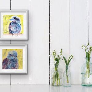 Kookaburra set in situ art
