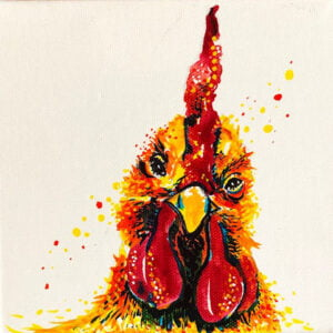 Quirky chicken