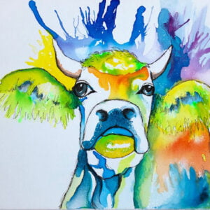 Cow abstract