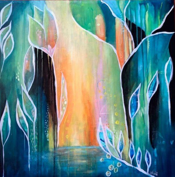 all is silent landscape artwork